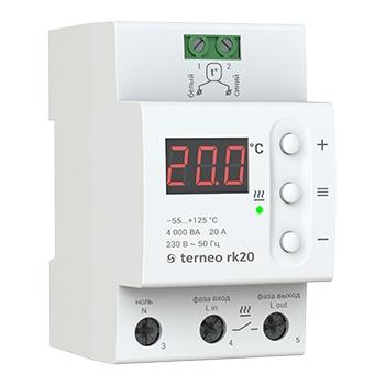 Терморегуляторы для электрических котлов