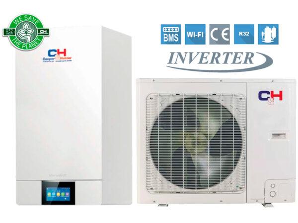 Unitherm 3 SPLIT R32 Тепловой насос для отопления / охлаждения и горячего водоснабжения Cooper&Hunter CH-HP4.0SIRK3